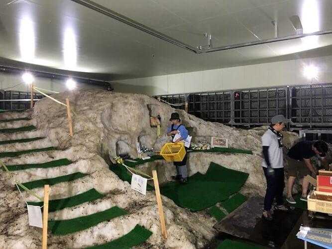 IMG_3923_天然雪の貯蔵庫 スノーパルで雪室コンビニ開催