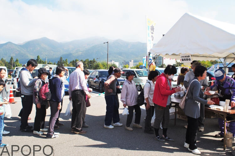 PA180117_山ノ内町の秋の収穫祭「よってかっしゃい 山ノ内」