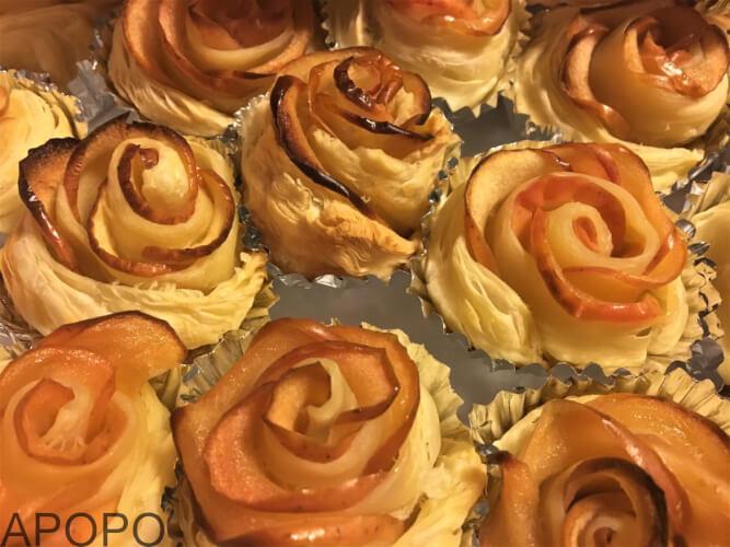 170302-12_簡単!薔薇のアップルパイを作ったよ