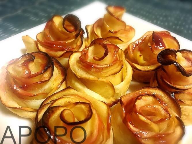 s_180123-126_簡単!薔薇のアップルパイを作ったよ