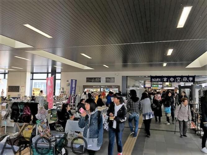 IMG_5022-min_山梨県甲府駅の空中市「ソライチ」出店してきました